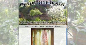 Gladstone House Website Design