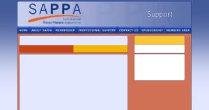SAPPA Website Design